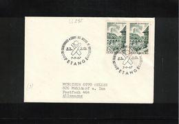 Luxembourg 1967 Petange European Bowling Championship Interesting Letter - Bowls