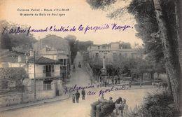 CPA Colonne Voirol - Route D' EL-BIAR - Brasserie Du Bois De Boulogne - Alger
