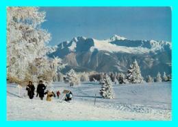 A857 / 595 Suisse MONTANA CRANS Plateau Du Golf En Hiver - VS Valais