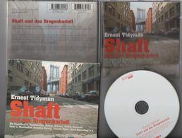 Livre Audio SHAFT UND DAS DROGENKARTELL Ernest TIDYMAN Reiner Schöne Engelbert Von Nordhausen Matthias Habich - CDs