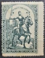 FRANCE 1915 - Vignette De Propagande JEANNE D'ARC - Grande Version - Kriegsausgaben