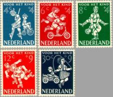 1958 Kind NVPH 715-719 Ongestempeld - 1949-1980 (Juliana)