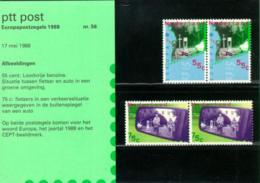 1988 Europa Transport En Communicatie Mapje 056 - Postfris/MNH/** - 1980-... (Beatrix)