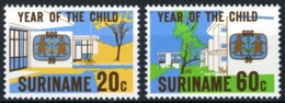 Suriname 1979 Jaar Voor Het Kind. S.O.S. Dorpen In Suriname MNH/**/Postfris - Surinam