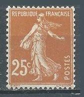 France YT N°235 Semeuse Fond Plein Neuf ** - 1906-38 Sower - Cameo