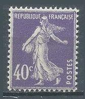 France YT N°236 Semeuse Fond Plein Neuf ** - 1906-38 Sower - Cameo