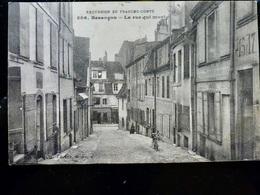 CARTE POSTALE _ CPA VINTAGE : BESANCON _ La Rue Qui Monte       // CPA.L.Div27 - Besancon