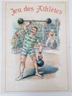 Le Jeu Des Athlètes - Haltère - Dumbbell - Cirque - Circus - Clown - Affiches