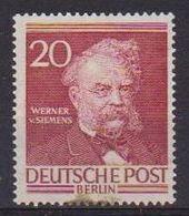 GERMANIA BERLINO 1952-53  BERLINESI CELEBRI UNIF. 83  MLH VF - Ungebraucht