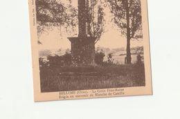 DPT  61 Bellême La Croix Feue-Reine Souvenir Blanche De Castille CPA  TTBE - Autres Communes