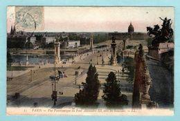CP 75 - Paris - Vue Panoramique Du Pont Alexandre III Vers Les Invalides - Ponts