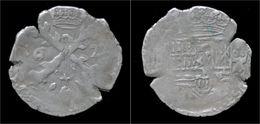 Southern Netherlands Franche Comte Philip IV 1/32 Patagon 1622 Dôle Mint - Belgique