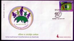 HEALTH- AUTISM- FDC-INDIA-2003-IC-286 - FDC