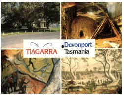 (A 3) Australia - TAS - Tiagarra - Devonport (aborigines) With Stamp - Australia