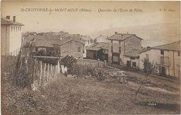SAINT CHRISTOPHE LA MONTAGNE - France
