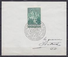 N°1093 Journée Du Timbre 1959 Sur Feuillet Càd 1e Jour BRUXELLES /15-3-1959 + Signature Graveur Jean De Bast - Covers & Documents