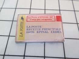 1619 Pin's Pins / Rare Et De Belle Qualité !!! THEME POSTES / LA POSTE EPINAL RP ENVELOPPE - Postes
