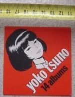 AUTOCOLLANT YOKO TSUNO ROGER LELOUP - Autocollants