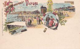 M 1035 SOUVENIR DE   VILLERS SUR MER - Villers Sur Mer