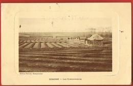 95- GONESSE - Les Cressonnières -Edition Devaux Restaurateur- Circulée 1911- Scans Recto Verso - Gonesse