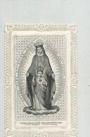 Holy Card Lace- Dentelle -Kanten Prent - Devotieprenten
