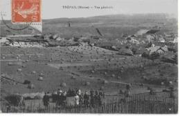 TREPAIL - VUE GENERALE - BELLE ANIMATION - 1917 - France