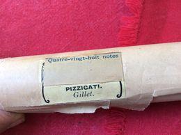 TP04 // ROULEAU A MUSIQUE POUR ORGUE DE BARBARIE - PIZZICATI - Music & Instruments