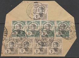 INDOCHINE- AMBULANT - Oblitération GIARAY A PHANTIET Sur Grand Fragment - Indochine (1889-1945)