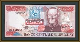 Uruguay 5000 Pesos 1983 P-65 (65a.2) UNC - Uruguay