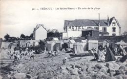 29 -  Finistere -   TREBOUL - Les Sables Blancs - Un Coin De La Plage - Hotel Des Sables Blancs - Tréboul