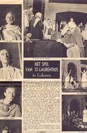 Orig Knipsel Coupure Artikel Tijdschrift Magazine - Lokeren , Het Spel Van St Laurentius - 1949 - Oude Documenten