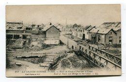CPA  80 : HAM  Pont Sur Le Canal Et Pub Coca Au Verso Dépots à Reims   A  VOIR   !!!! - Ham