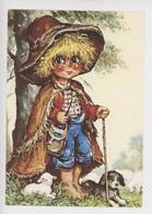 Michel Thomas (illustrateurs)  Gamins : Berger (n°54) Métiers Mouton Chien - Thomas