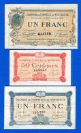 Montauban  3  Billets  Sup - Cámara De Comercio
