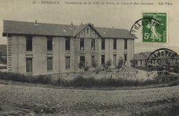 HENDAYE Sanatorium De La Ville De Paris ,le Lazaret Des Garçons  RV - Hendaye