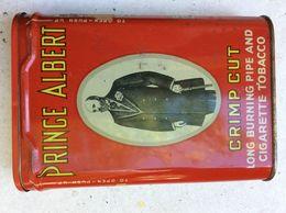 TP04 KNFL / BOITE A TABAC / PIPE / PRINCE ALBERT / PUBLICITAIRE - Empty Tobacco Boxes