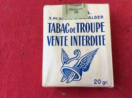 TP04 KNFL / PAQUET CIGARETTES  TABAC DE TROUPE / ALGERIE / Non Entamé - Tabac (objets Liés)