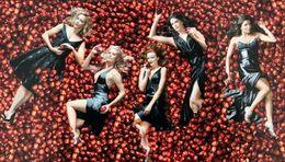Femmes Dans Les Pommes DESPERATE HOUSEWIVES Teri Hatcher Eva Longoria Felicity Huffman Women And Apples - Séries TV