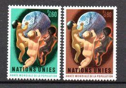 G39-1 Nations Unies N° 43 à 44 ** - Ungebraucht