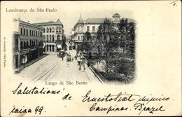 Cp São Paulo Brasilien, Largo De Sao Bento - Autres