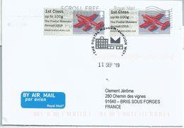 Vignette D'affranchissement IAR - ATM - Post & Go - Poste Aérienne - Avion Embraer Bandeirante - Airplanes