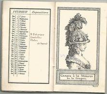 AUX TROIS - QUARTIERS A PARIS : CALENDRIER DES MODES POUR L ANNEE 1914 - Calendriers