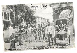 ASIE - MALAYSIA ( MALAISIE) TAMIL COOLIES , KUALA LUMPUR 1909 - Malaysia