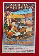 CPA Publicité Sulfate D'ammoniaque/ Chocolats Emery/ Schepkens Gembloux - Werbepostkarten
