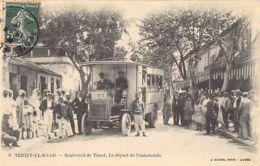 TENIET EL HAAD - Le Départ De L'Automobile - Boulevard De Tiaret - Other Cities