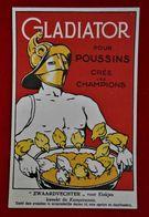 CPA Publicité Poussins/ Gladiator-Sulfate D'ammoniaque/  Gembloux - Werbepostkarten