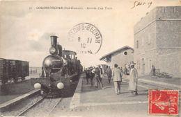 COLOMB BECHAR - Arrivée D'un Train - La Gare - Bechar (Colomb Béchar)