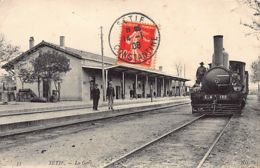 SETIF - La Gare - Arrivée Du Train - Setif