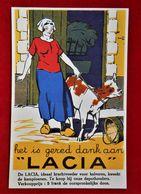 CPA Publicité Lacia/Sulfate D'ammoniaque/ Gembloux - Werbepostkarten