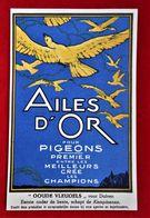 CPA Publicité Pigeons - Ailes D'or/Sulfate D'ammoniaque/ Gembloux - Werbepostkarten